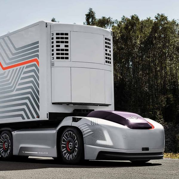AI Driverless trucking deliveries